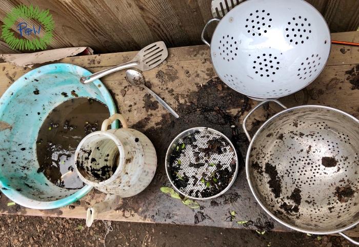 Outdoor Mud Kitchen Ideas